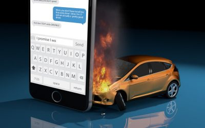 Accidents Caused by Texting & Driving