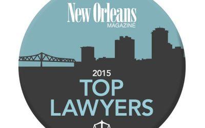 2015 TOP LAWYERS (MyNewOrleans.Com)